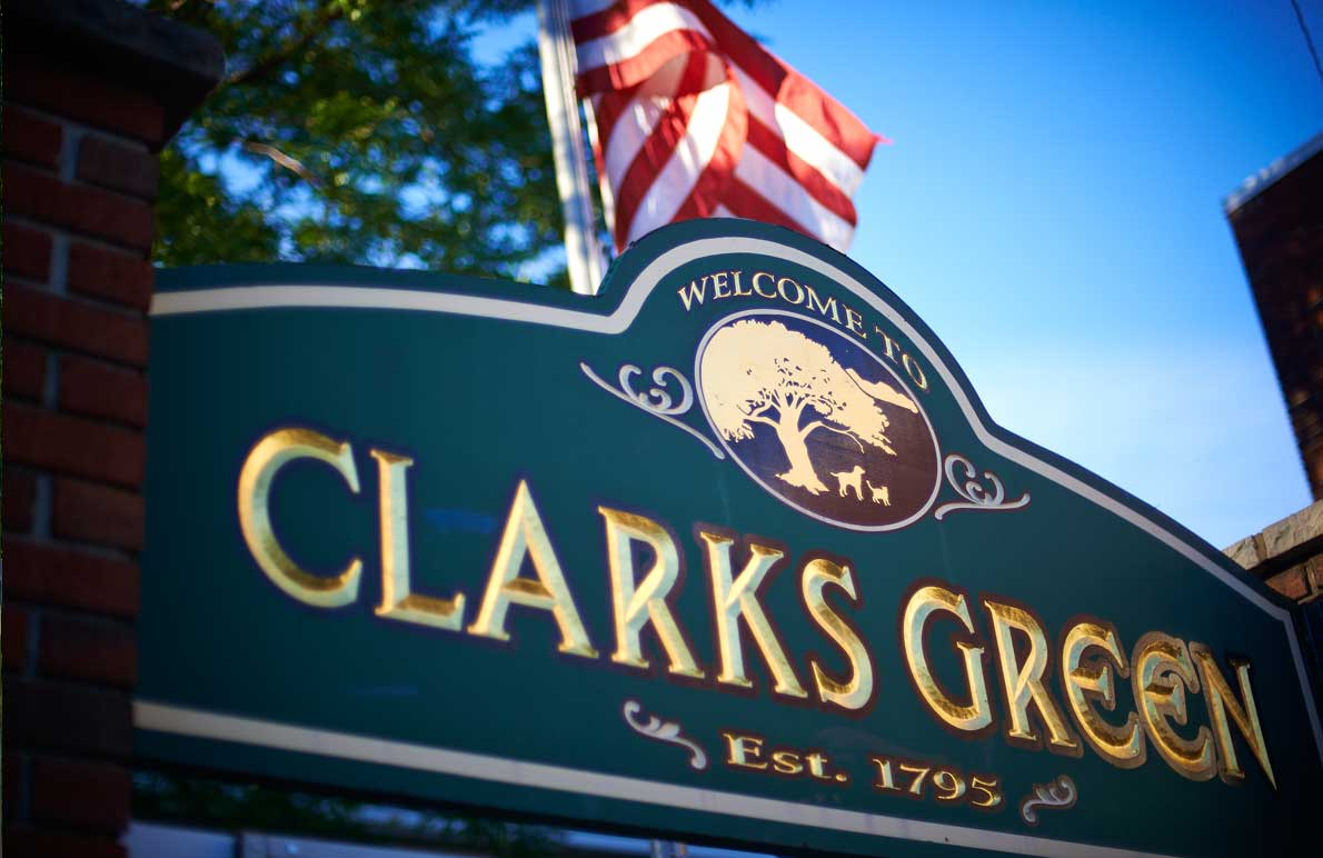 clarks-green-borough-sign